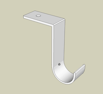 Ceiling Bracket with offset to back