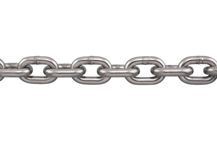 """STAINLESS STEEL NACM INDUSTRIAL CHAIN 316L 3//16/"""" S0602-0005"""