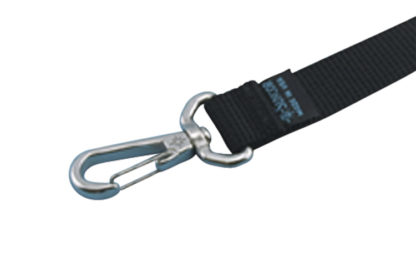 1 in Webbing Assembly With Swivel Clip Nylon 304 Marine Grade Stainless Steel S0235-0004