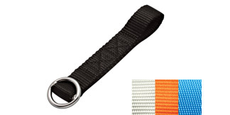 1 in Ski Tow Tie-Down Webbing Assembly Nylon 316 Marine Grade Stainless Steel S0238