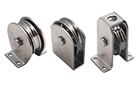 Stainless Steel Pulley And Swivel Blocks